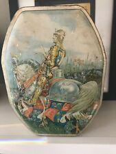 King Henry V British Huntley Palmers Antique Tin English Medieval History '30s
