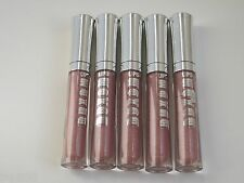 BARE ESCENTUALS BUXOM Lip Polish * LISA COUTURE * Lot of 5 ~ nude pink shimmer