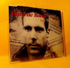 MAXI Single CD Hans de Booij Van Traalala 2TR 1995 Dutch Pop