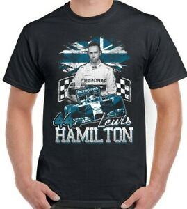 LEWIS HAMILTON T-Shirt Mens Children's Boy's Girl's Tee Top 44