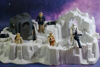 VINTAGE Star Wars COMPLETE HOTH IMPERIAL ATTACK BASE + FIGURES PLAYSET KENNER