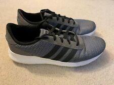 Adidas Neo Lite Racer men's running trainers in grey/black - size 12