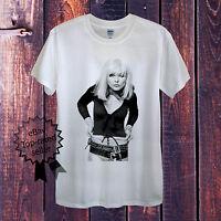 BLONDIE T-Shirt Men OR Women's Fitted Debbie Harry Punk Rock Vintage Retro USA
