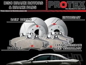 Protex Rear Brake Rotors & Ultra Pads suits Holden Astra HSV AH VXR 2004-2009