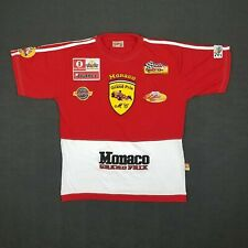 MONACO Grand Prix Formula 1 Embroidered Patches Shirt - Youth Size 14