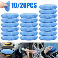 "10/20pcs 5"" Car Buffing Pad Polishing Sponge Buffer Set Waxing Foam Polisher Kit"
