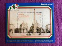 REPUBBLICA 2011 FOGLIETTO 150° UNITA' D'ITALIA  EMISS. CONG. VATICANO NUOVO