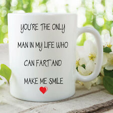 Fart Mug Funny Novelty Gifts Boyfriend Husband Coffee Tea Cup 11oz WSDMUG394