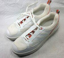White Women Walking Shoes StepGym Step Gym High Platform Shape Up Sneakers Sz 10