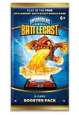 Skylanders Battlecast Booster Cards 12 Booster Packs - Android and iOS Card Game