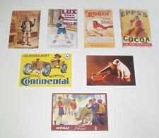 Lot de 7 Carte Postale Reproduction Affiche Publicitaire Ancienne Pub