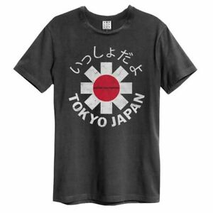 Amplified Red Hot Chili Peppers Tokyo Official Merchandise T-Shirt M/L/XL Neu