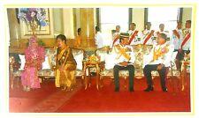 Bild König Bhumibol Adulyadej RAMA IX Thailand Sultan von Brunei 25x14,5 cm  (10