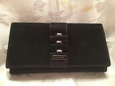 Pierre Cardin Nubuck  Black Wallet