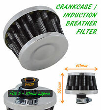 UNIVERSAL OIL MINI BREATHER AIR FILTER-FUEL CRANKCASE ENGINE CAR - CARBON–Skoda