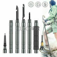 Multi function Portable Trekking Pole Defense Stick Outdoor Camping Hiking Tool