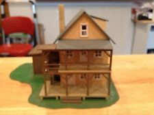 ho scale built building model power  rooming  boarding home / HOUSE scenery lot