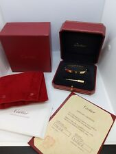 Cartier Love Bracelet 18K Rose Gold Size 19 - B6035619 - Box & Papers Included