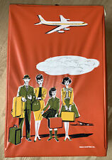 "New listing 1960s Remco 15"" x 10"" Littlechap Family Wardrobe Case Orange Very Good Condition"
