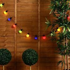 20 Festoon Coloured String Chain Lights Indoor / Outdoor Garden Party Lighting