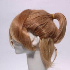 Perruques, extensions et matériel cheveux synthétiques brun moyen pour femme