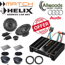 Match Amp & harness PP62DSP+Harness+Helix F 62C Component Upgrade Audi Q3