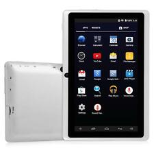 "7"" inch Quad Core Android 4.4 Tablet PC 4GB Bluetooth Dual Cam White EU"