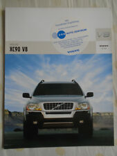 Volvo XC90 V8 brochure 2005 German text
