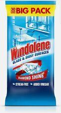 Windolene Glass Cleaner Wipes, 30 Wipes