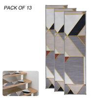 """7/13 Carpet Stair Treads 8""""x30"""" Non Slip/Skid PVC Back Runner Mats Stairway Rug"""