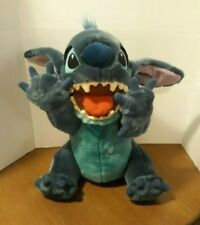 "Disney Store Stitch As Dog Plush Stuffed Animal 18"" Mouth Open with Tags - Rare"