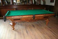 Brunswick Balke Collender antique pool table - 9' Brilliant Novelty circa 1885