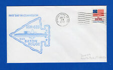 USS Baton Rouge SSN-689 First Day in Commission June 25, 1977