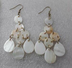 70mm Shell Drop Earrings