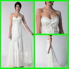 Empire Lace Sleeve Wedding Dresses