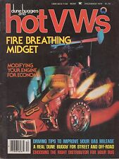 Dune Buggies and Hot VWs - December 1979 - Volume 12 Number 12