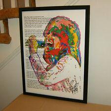Dusty Springfield, Pop Singer, Son of a Preacher Man, Vocals, R&B, POSTER w/COA