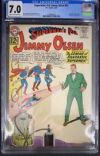 Superman's Pal Jimmy Olsen #63 CGC 7.0  9/62 3758590004 - Supergirl appearance