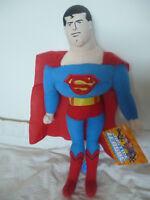 JUSTICE LEAGUE DC COMIC-SUPERMAN 27cm Soft Toy Doll BNWT Batman Superman License