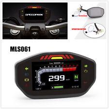 Universal Motorcycle Speedometer Tachometer Digital For 2 4 Cylinder Motorcycle