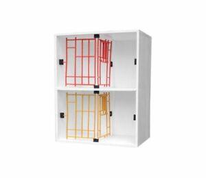 2 Bird Pigeon Widowhood Nest Boxes - Compressed   Special Design   Pigeon Loft