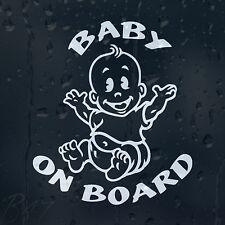 Baby On Board Car Windscreen Body Panel Laptop Phone Wall Decal Vinyl Sticker