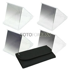 4pcs Gradual Graduated ND2 ND4 ND8 ND 2 4 8 Grey Filter Kit for Cokin P Series