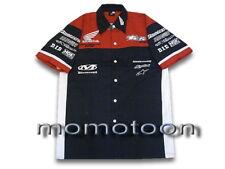 Men's Gift Motorcycle Biker Honda Racing Pit Shirt Size M