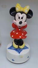 Disney collectable : Schmid Music Box - RARE  Minnie Mouse