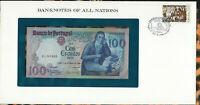 Banknotes of All Nations Portugal 100 Escudo 1980 P-178a.4 UNC Prefix EL Mestre
