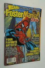 WIZARD POSTER MANIA 2004 SPIDER MAN WOLVERINE X-MEN