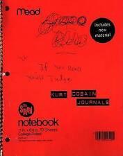 NEW Journals by Kurt Cobain