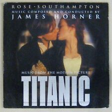 Titanic CD's  (BOF) Rose - Southhampton James Horner 1998
