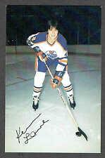 1979-80 Edmonton Oilers Kevin Lowe Team Issued Rookie Postcard